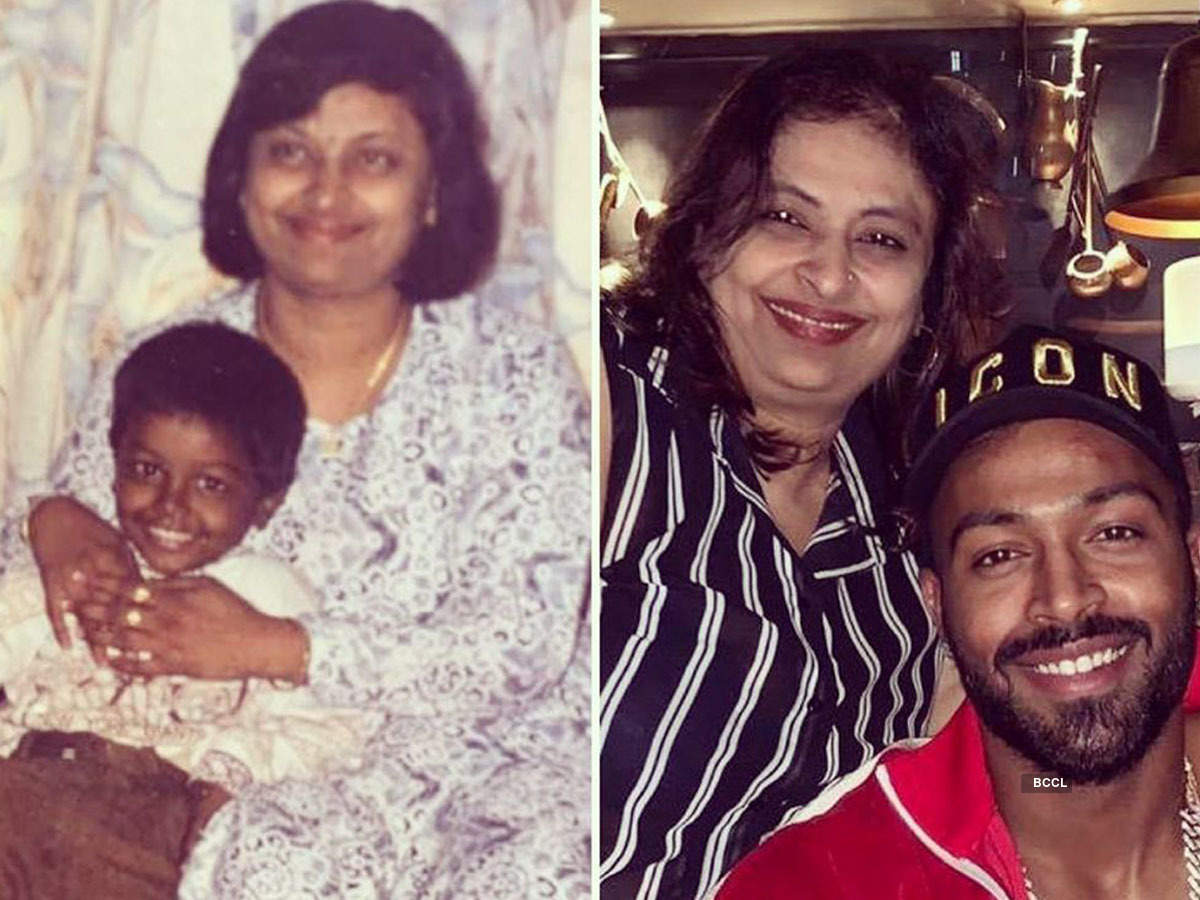 Hardik Pandya shares the most adorable childhood picture on social media
