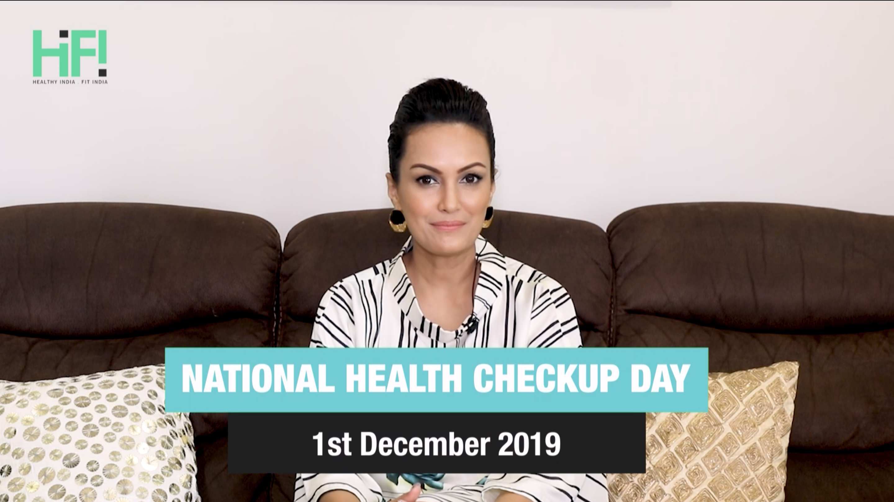 Hi-Fi new mom Nisha Rawal encourages to get your health checkup done on December 1