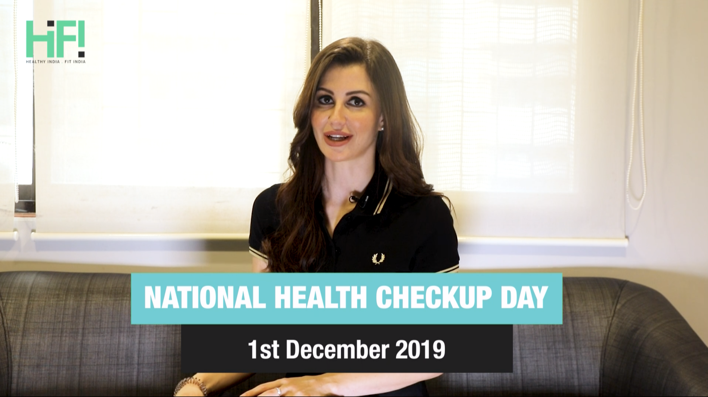 Hi-Fi groover Georgia Andriani recommends you to get a health check-up on Dec. 1