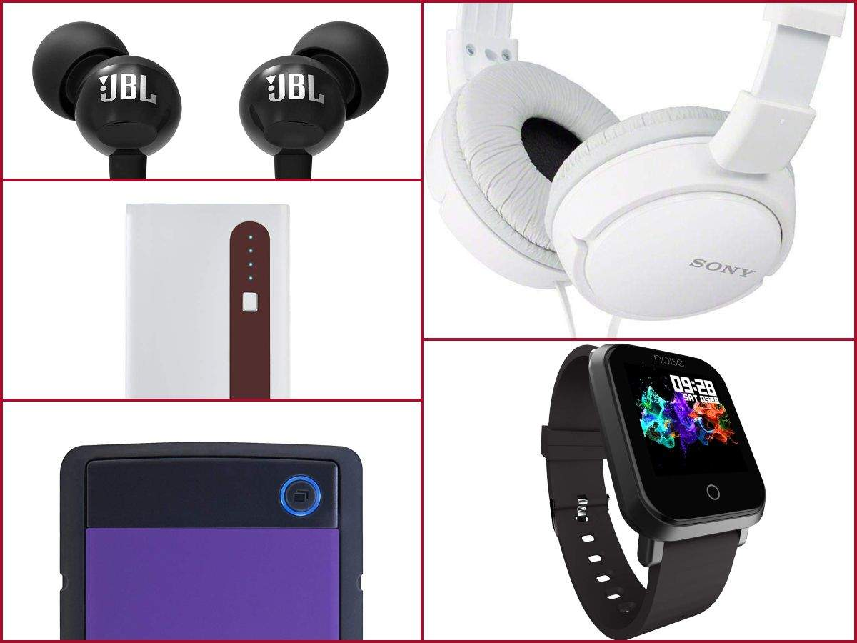 Amazon sale: Speakers, power banks and more gadgets selling at half price or cheaper