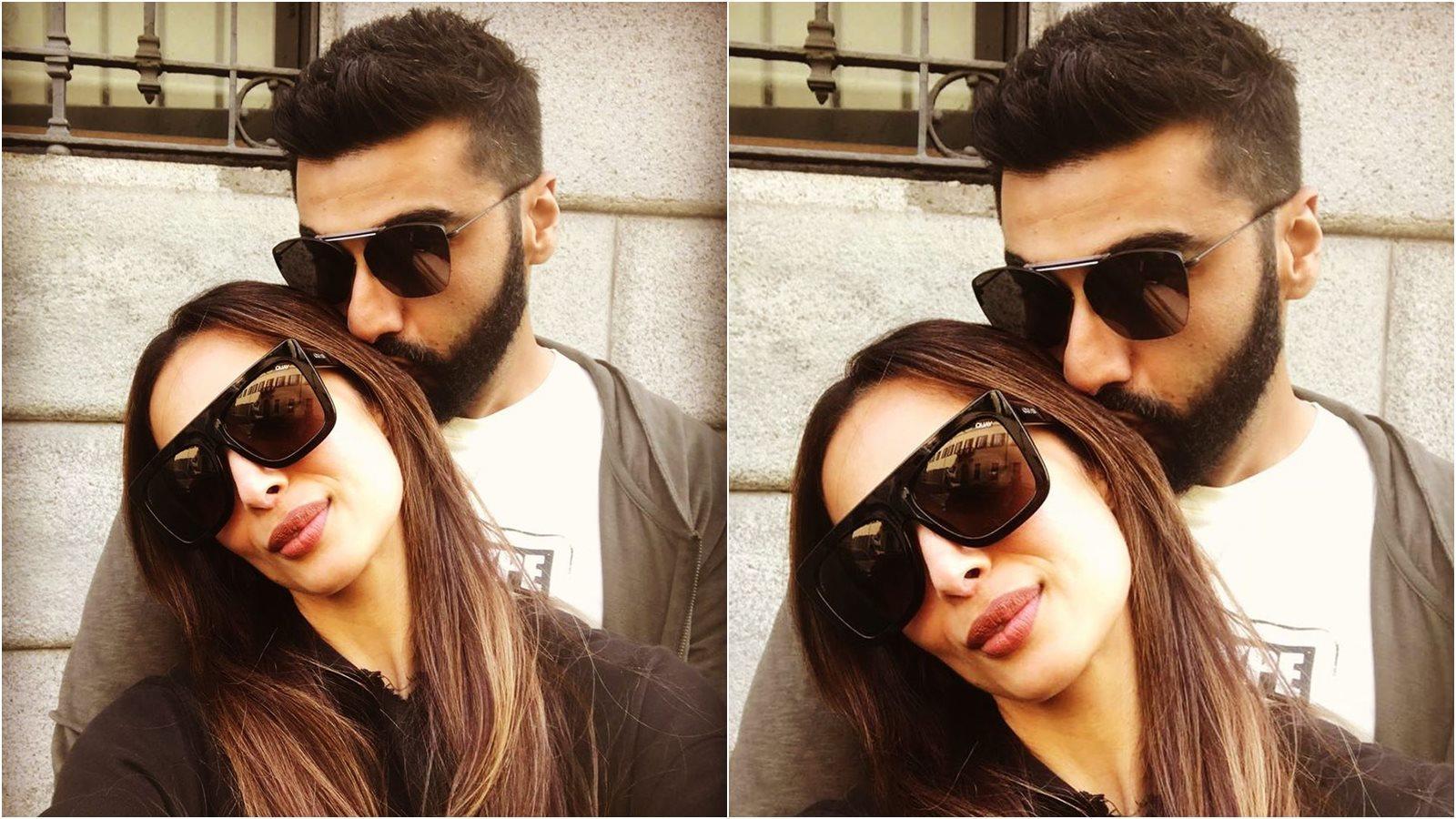 Malaika Arora seals her birthday with a kiss from beau Arjun Kapoor