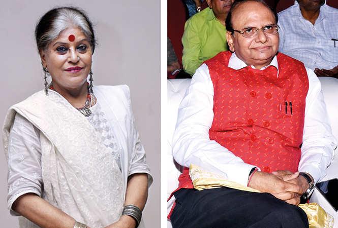 (L) Runa Banerjee (R) VK Saxena (BCCL/ Vishnu Jaiswal)