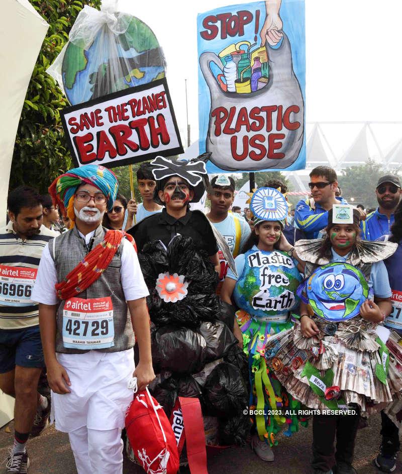 40,000 athletes participate in Airtel Delhi Half Marathon 2019