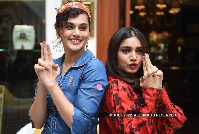 Taapsee Pannu and Bhumi Pednekar in Delhi