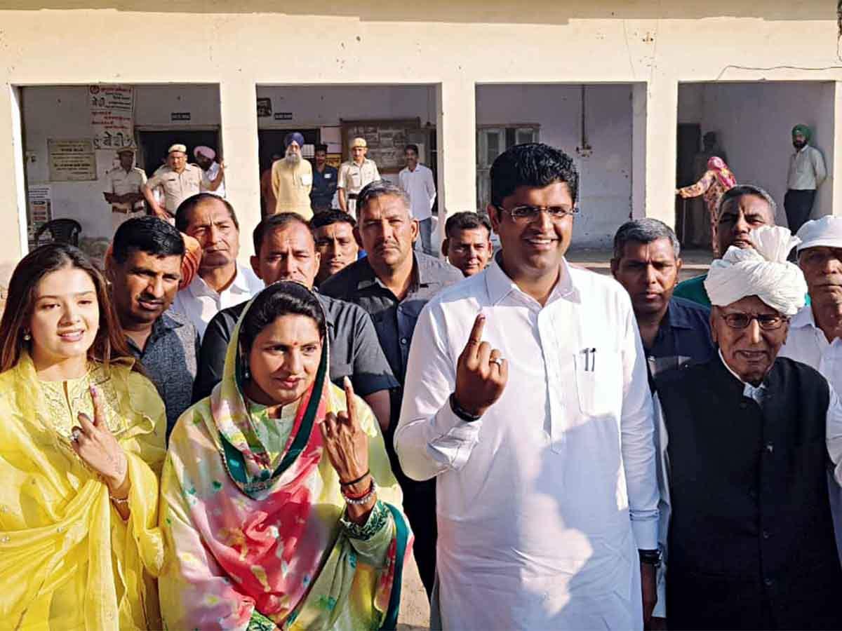 Image result for dushyant chautala family