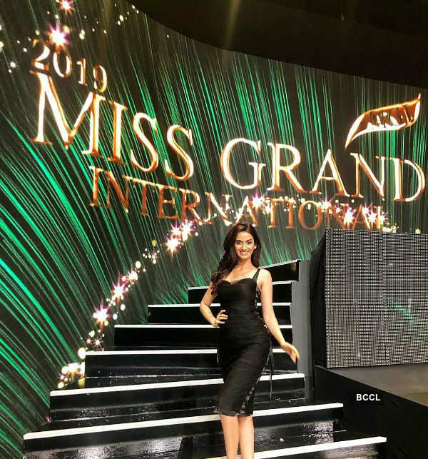 Shivani Jadhav's enlivening​ journey at Miss Grand International 2019