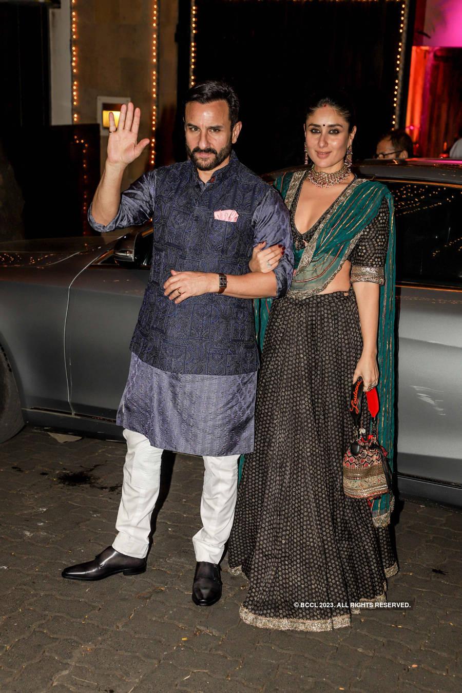 Inside pics: SRK, Anushka Sharma, Katrina Kaif dazzle at Anil Kapoor's Diwali party