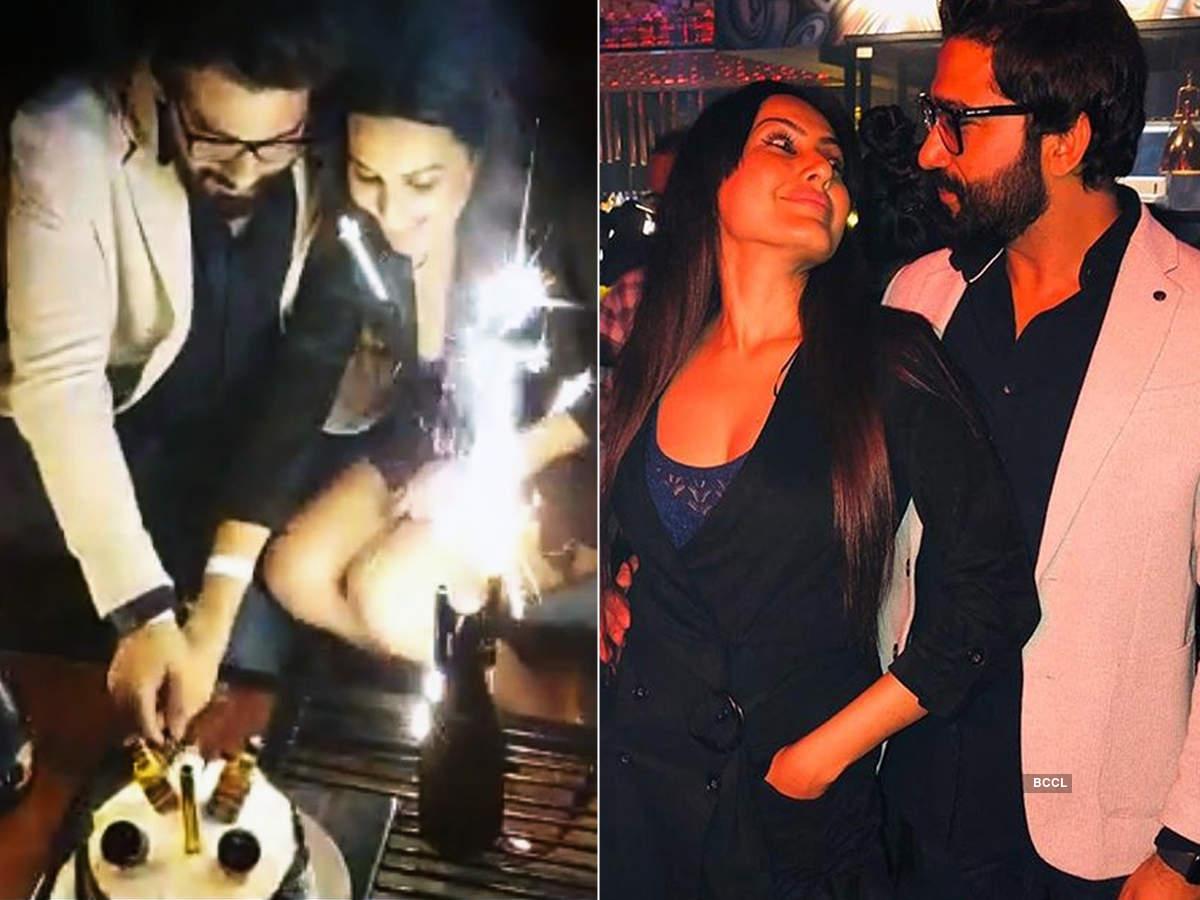 Kamya Panjabi celebrates boyfriend Shalabh Dang's birthday with friends