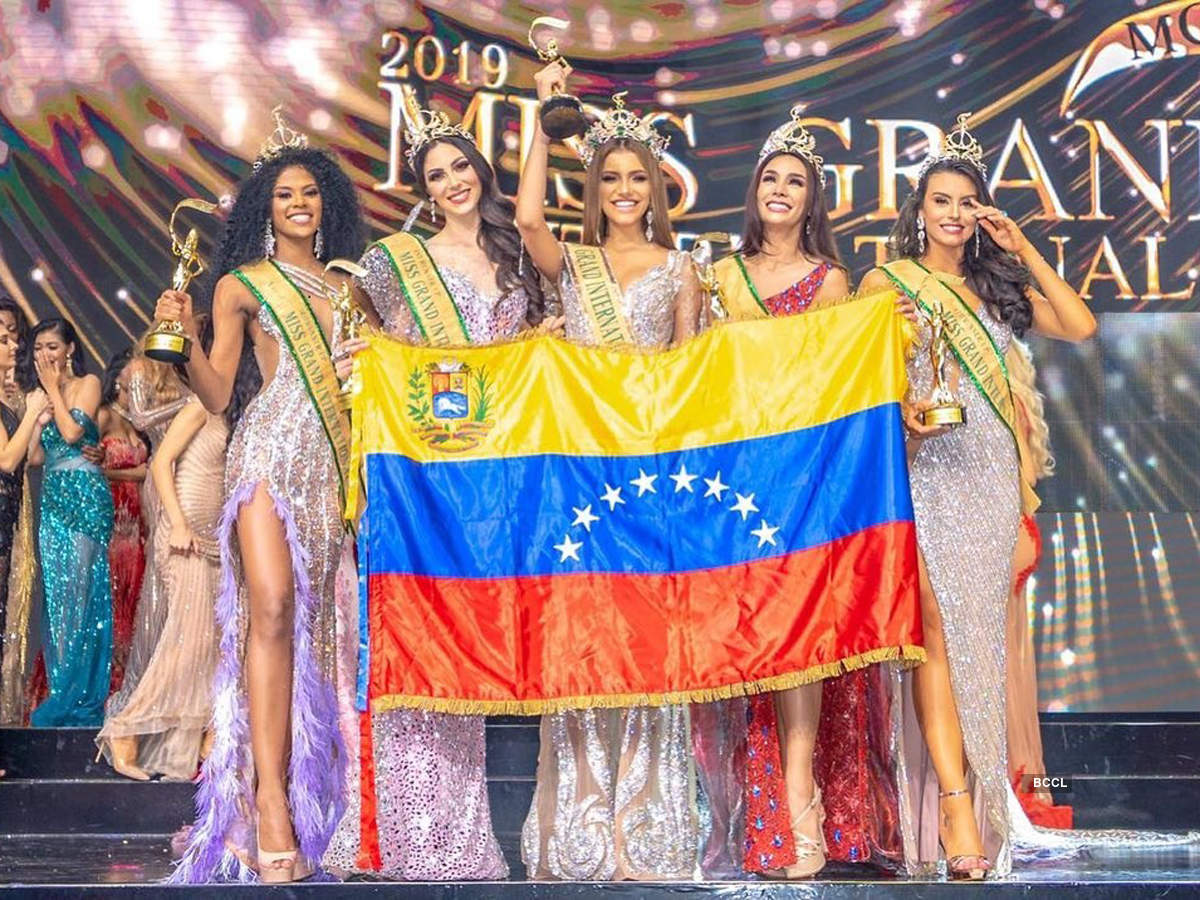 Lourdes Valentina Figuera Morales of Venezuela crowned Miss Grand International 2019