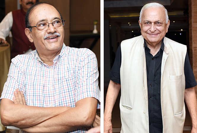 (L) Atul Kumar Gupta (R) Dr Mansoor Hasan (BCCL/ Farhan Ahmad Siddiqui)