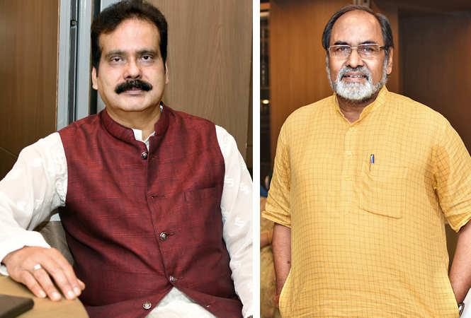 (L) Dr KL Satapathy (R) Gopal Sinha (BCCL/ Farhan Ahmad Siddiqui)