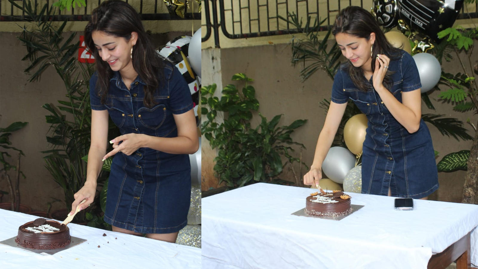 Ananya Panday celebrates her 21st birthday with media and fans