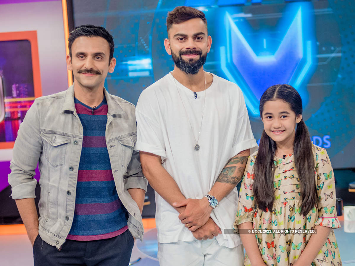 Virat Kohli launches animated superhero series Super V