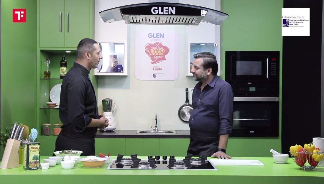 Times Food Boardroom Kitchen: Cooking Thai Pad Bai Krapow Gai with Samir Modi, Managing Director, Modi Enterprises