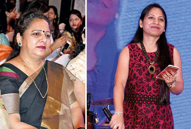 (L) Seema Tandon (R) Somya Agrawal (BCCL/ Arvind Kumar)