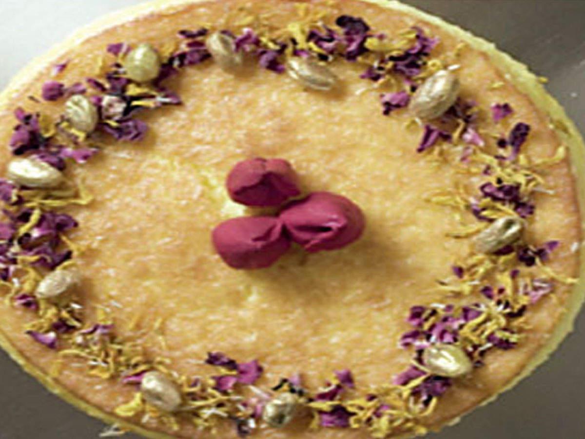 besan cheese cake