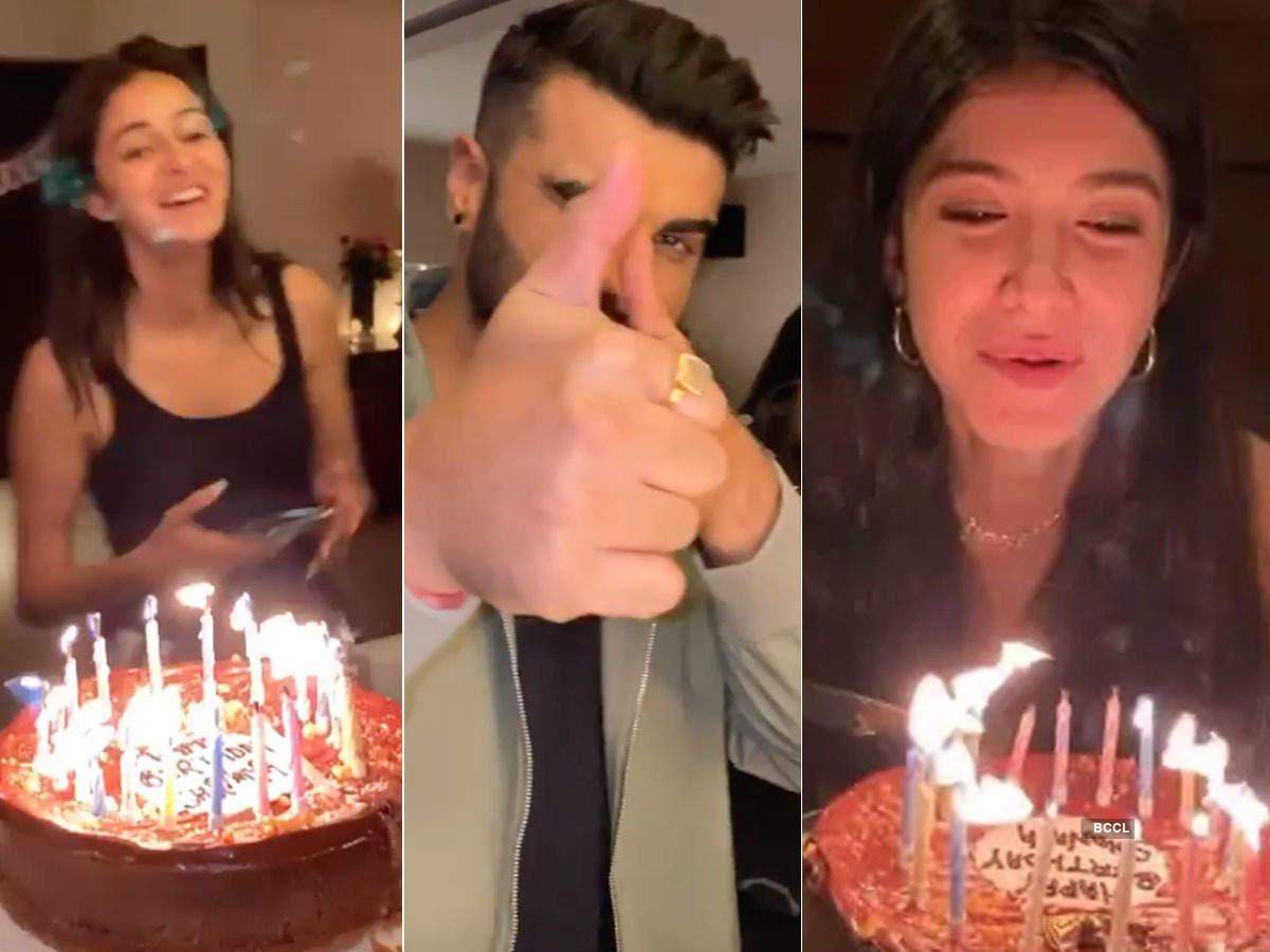 Inside Shanaya Kapoor's birthday celebration with Arjun Kapoor and Ananya Panday