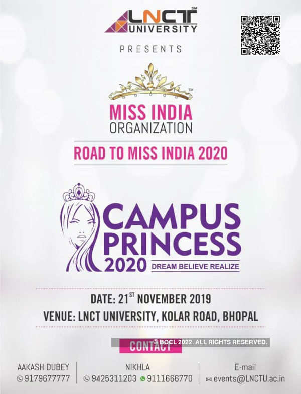 Campus Princess 2020 auditions at LNCT University, Bhopal