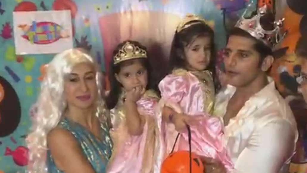 Celebrities attends Karanvir Bohra and Teejay's twins Bella-Vienna's birthday bash
