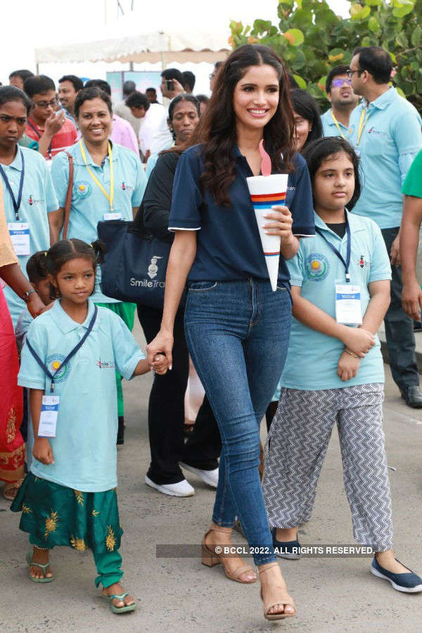 Vartika Singh raises awareness for Smile Train India and Children with Clefts