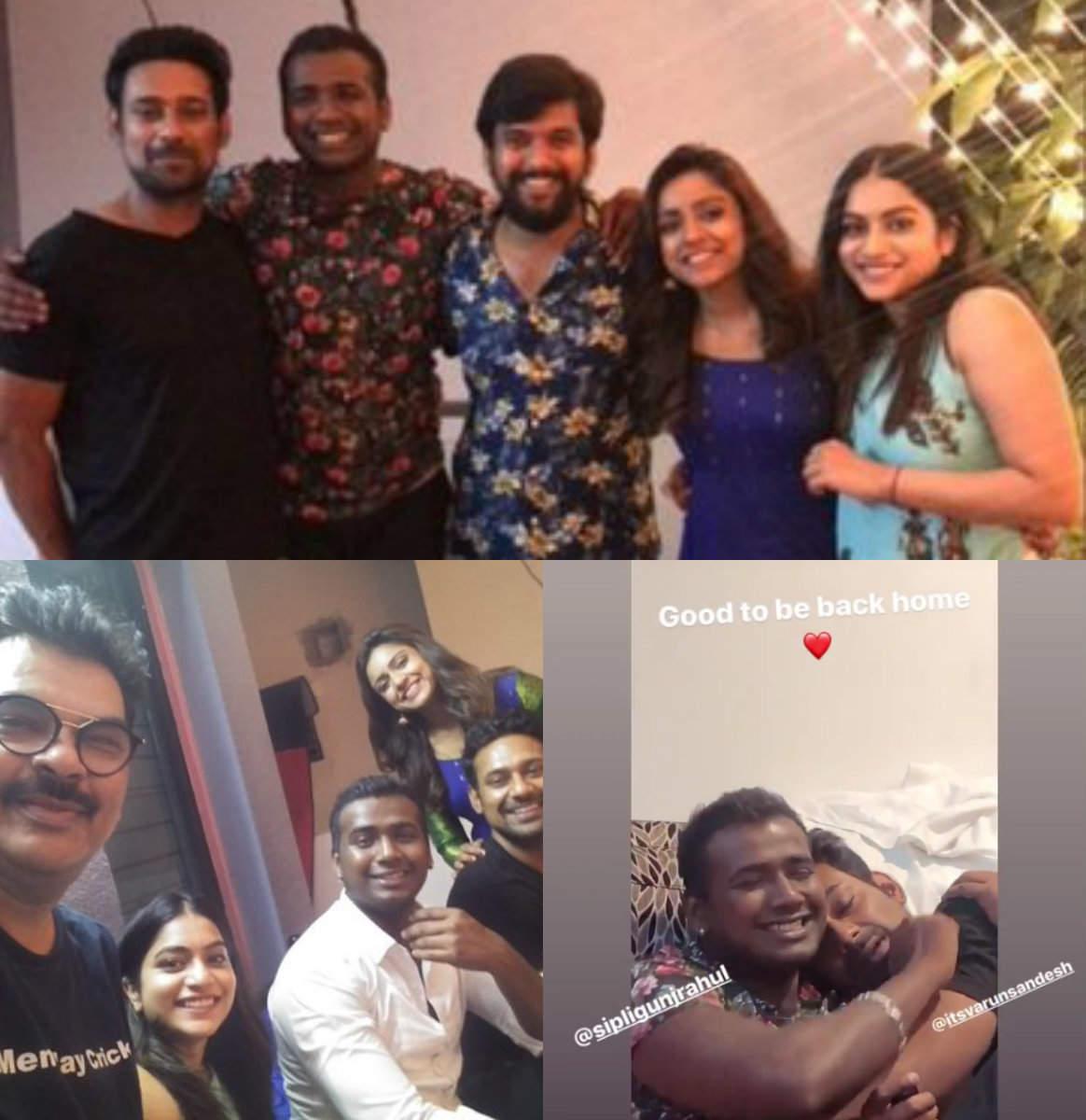 Latest pictures of BB Telugu 3 winner Rahul Sipligunj's reunion with BFFs Varun, Vithika and Punarnavi fa - Times of India