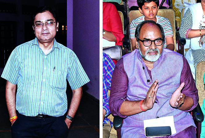 (L) Dr Surya Kant Tripathi (R) Gopal Sinha (BCCL/ Vishnu Jaiswal)
