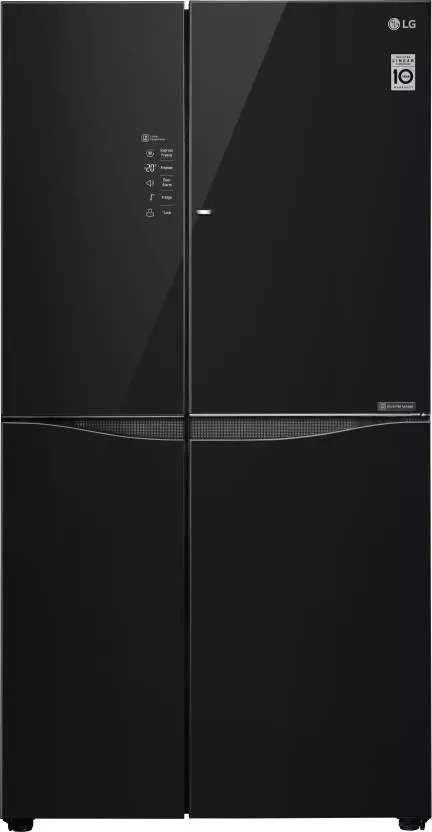 Lg 679 L 3 Star Frost Free Gc M247ugbm Black Glass Price Full Specifications Features 14th Apr 2021 At Gadgets Now