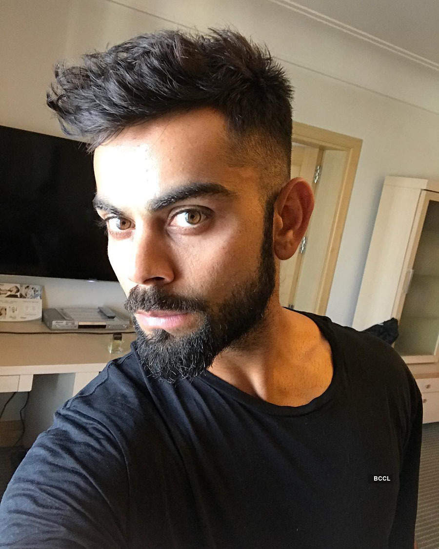 Virat Kohli and other famous cricketers sporting eye-popping hairstyles