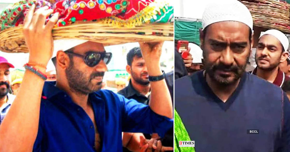 Ajay Devgn & son Yug get mobbed at Ajmer Sharif dargah, actor loses cool