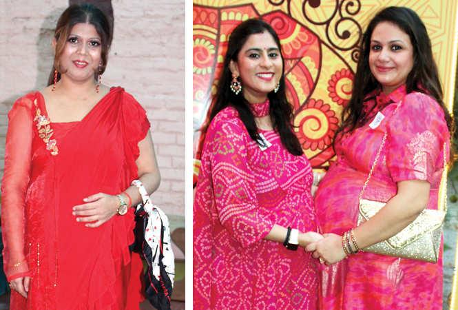 (L) Neha (R) Richa and Hina (BCCL/ Arvind Kumar)