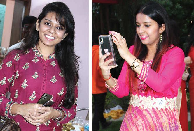 (L) Tanushri Agrawal (R) Ambika (BCCL/ Arvind Kumar)