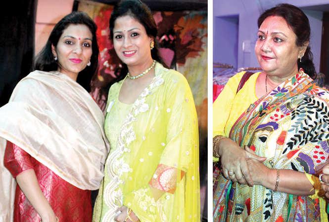 (L) Akanksha and Rinky (R) Jaya Tewari (BCCL/ Arvind Kumar)