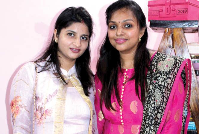 Monisha and Anshita Agrawal (BCCL/ Arvind Kumar)