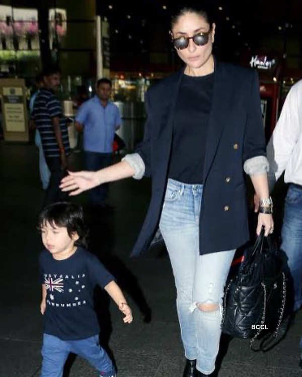 Adorable pictures from Taimur Ali Khan's Republic Day celebrations