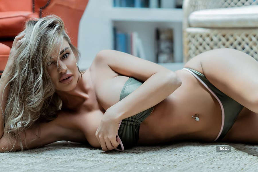 Playboy model Charlie Riina's pictures are making temperature soar