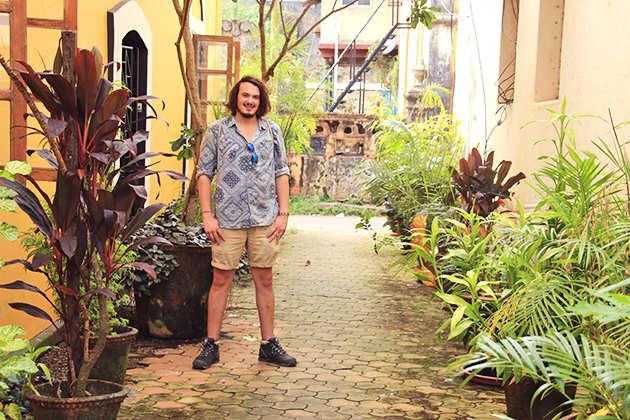 Solomon Souza exploring Fontainhas