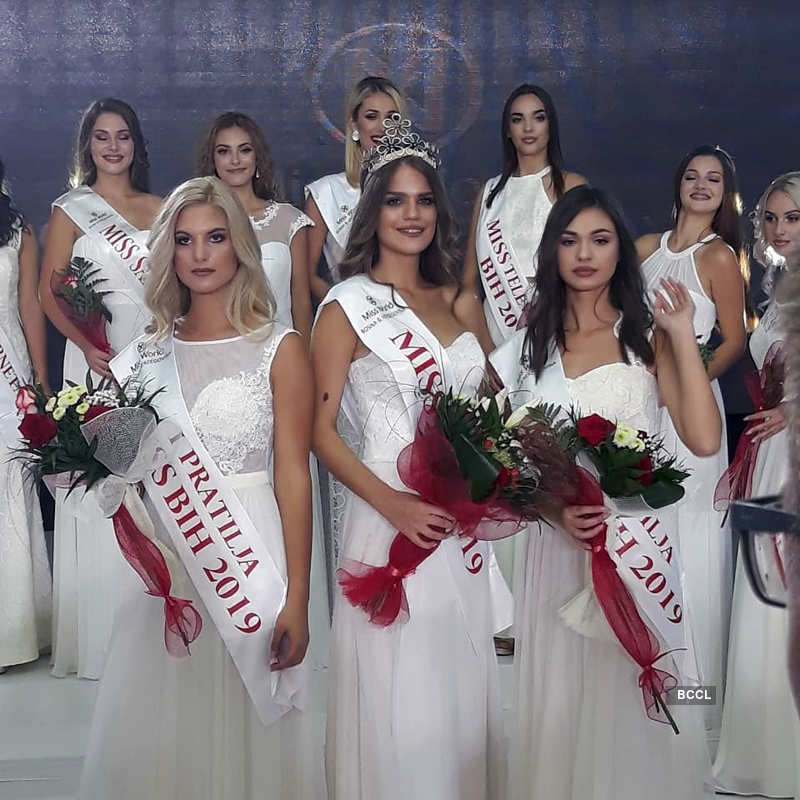 Ivana Ladan crowned Miss World Bosnia and Herzegovina 2019