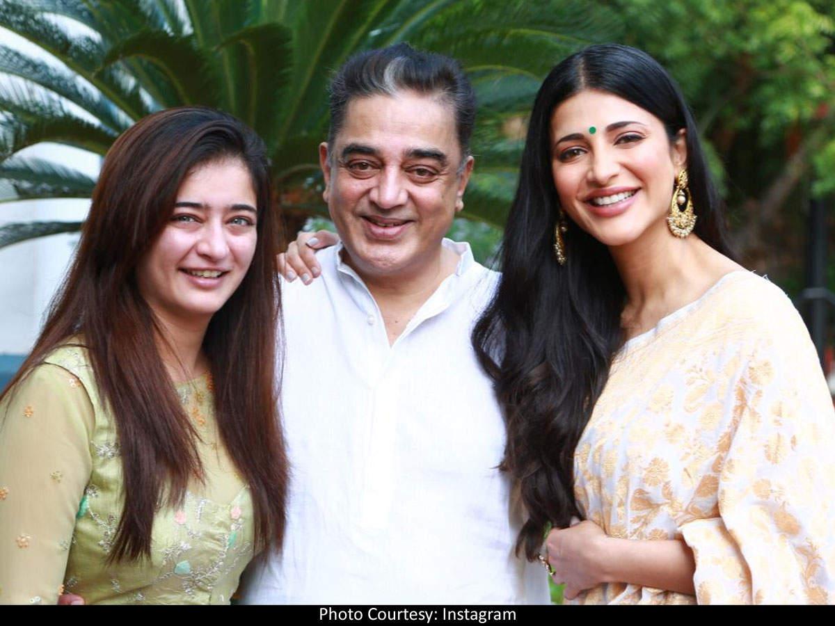 "Shruti Haasan says she was ""happy"" that parents Kamal Haasan and Sarika got  a divorce"