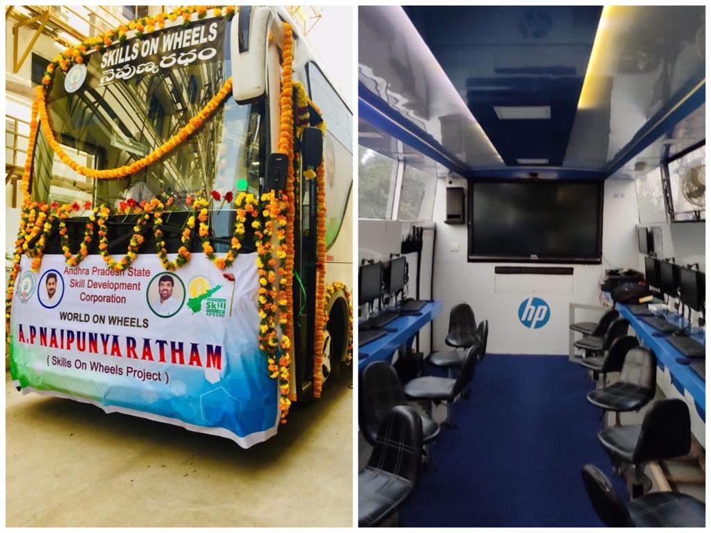 'Skills on Wheels' initiative to help 4500 students in Andhra Pradesh