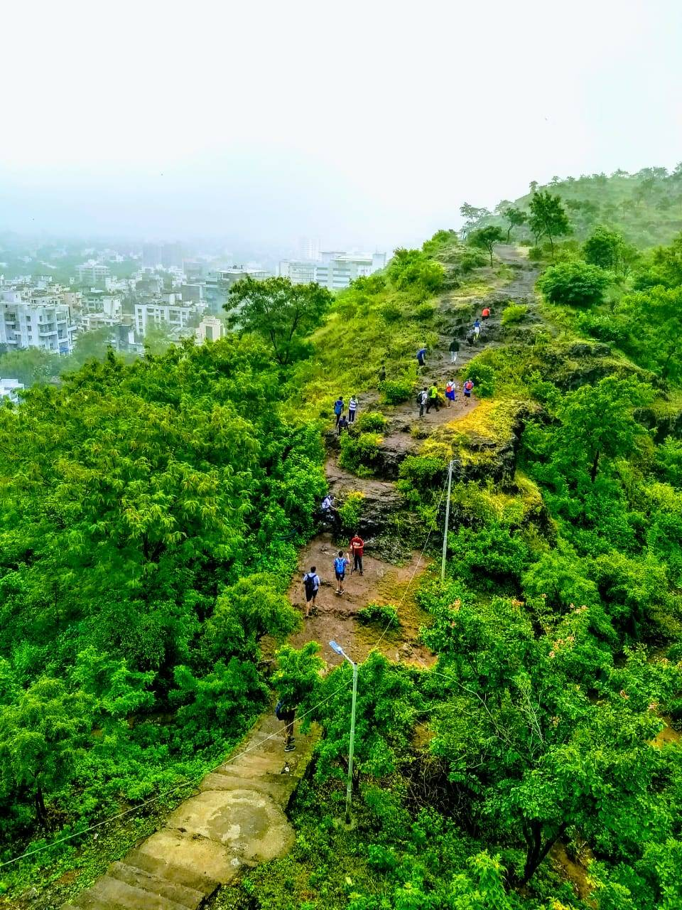 Oxfam Trailwalker 2019 Practise session in Pune