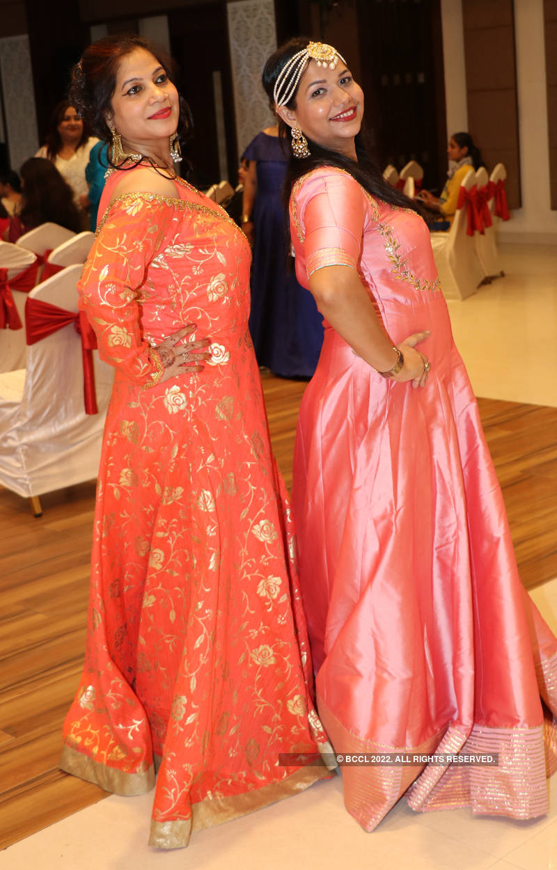 Banarasis attend a gala party based on theme 'Beauty and grace'