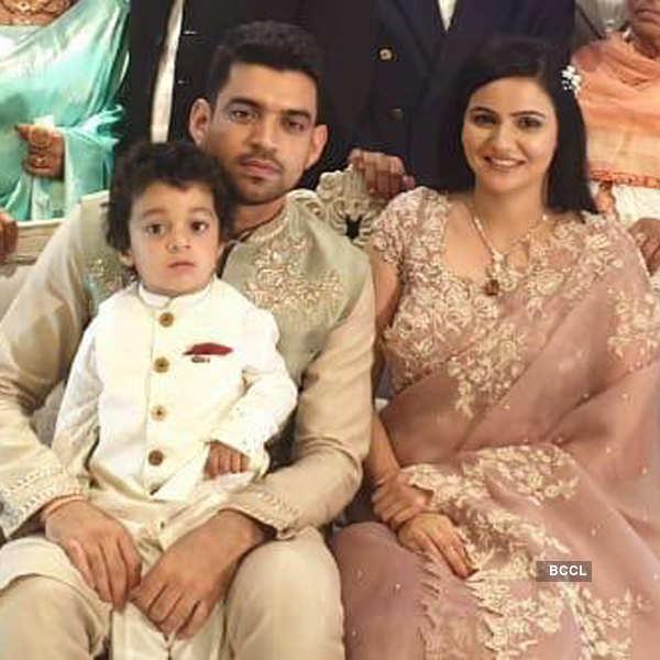 Inside photos of Kangana Ranaut's brother's engagement ceremony