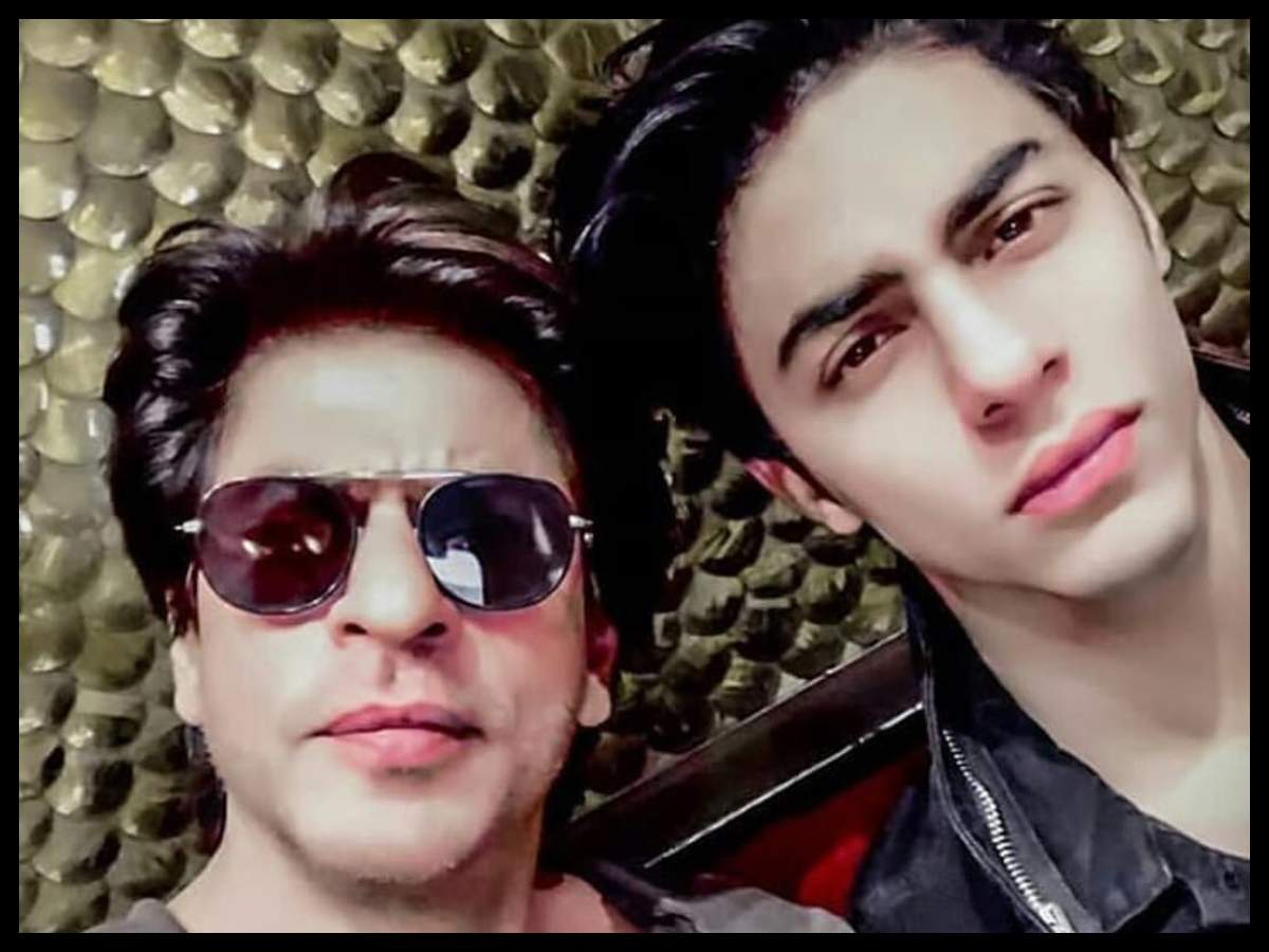 5 Times Aryan Khan reminded us of dad Shah Rukh Khan   The Times of India