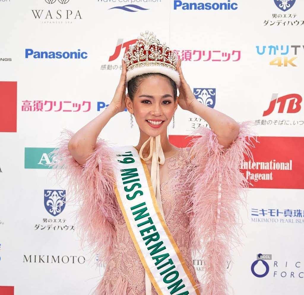 Thailand takes home Miss International 2019 crown
