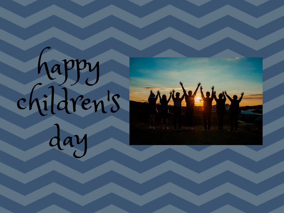 Happy Children's Day 2019: Facebook & Whatsapp status