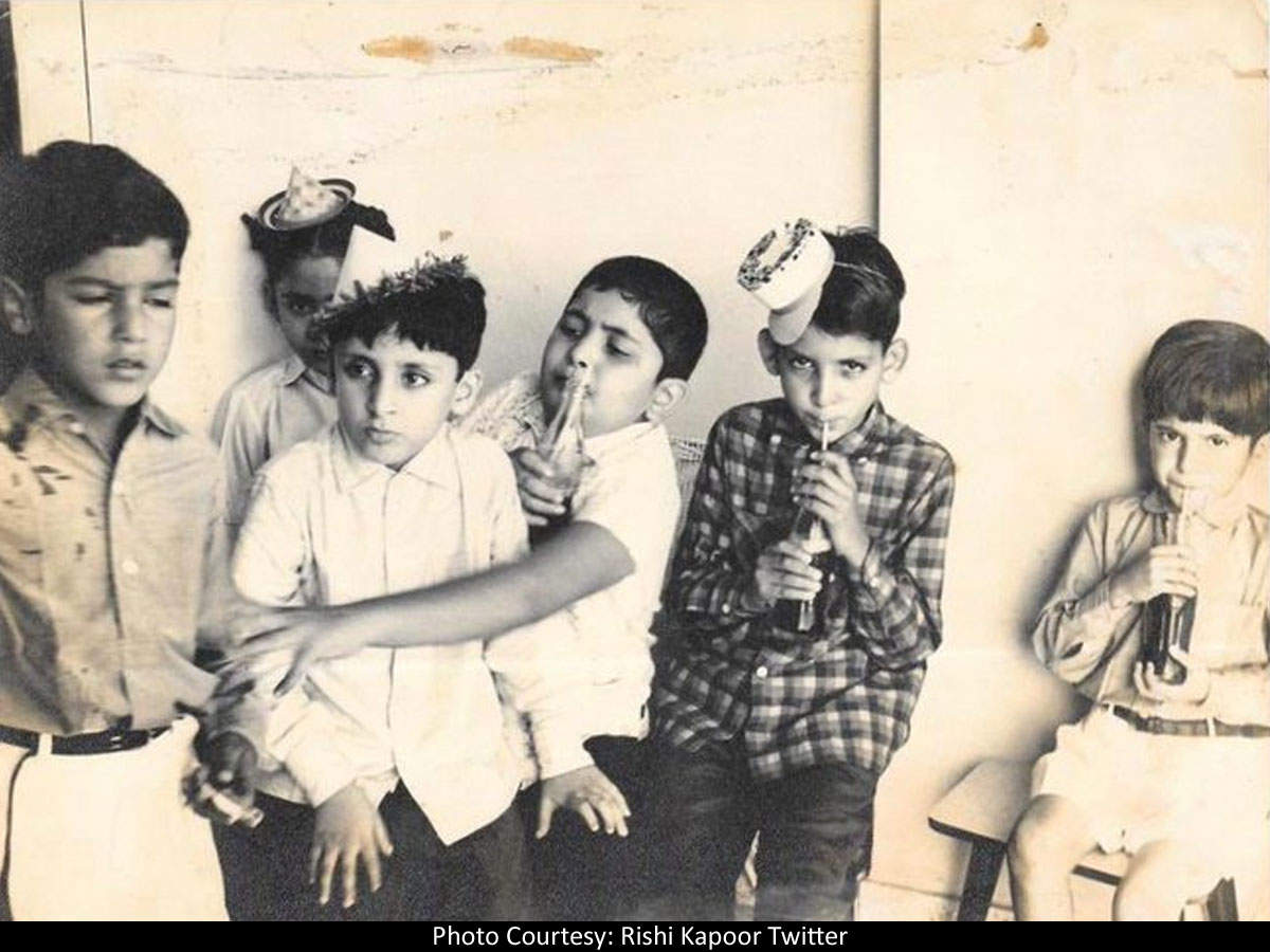Rishi Kapoor marks Children's Day with a perfect throwback photo