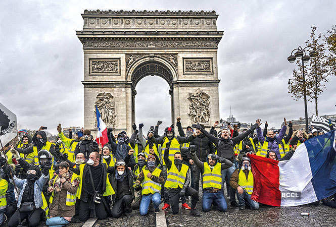 protest-Yellow-Vest-Protests,-France