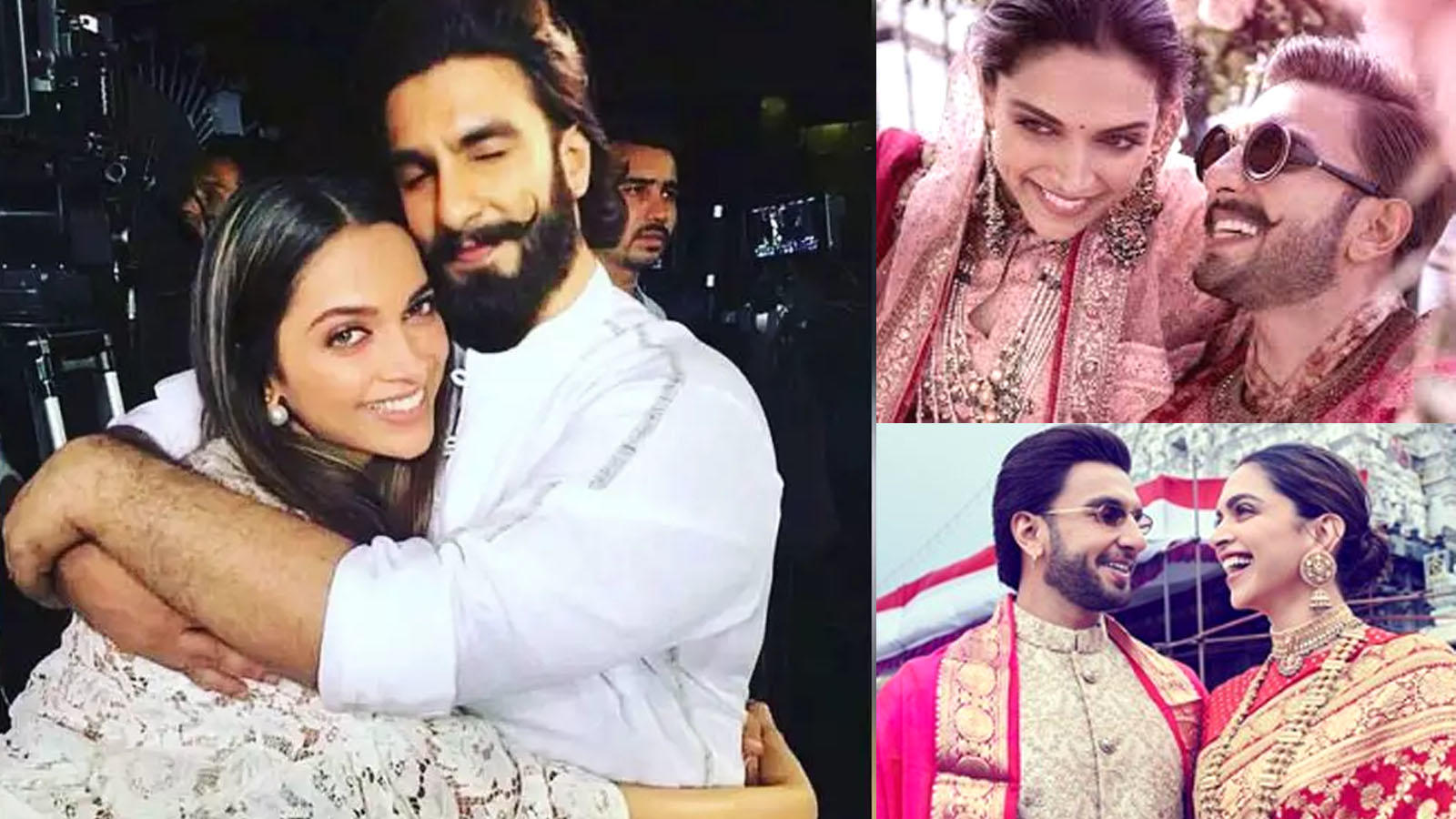 Deepika Padukone and Ranveer Singh's first wedding anniversary: Take a look at the couple's beautiful love story