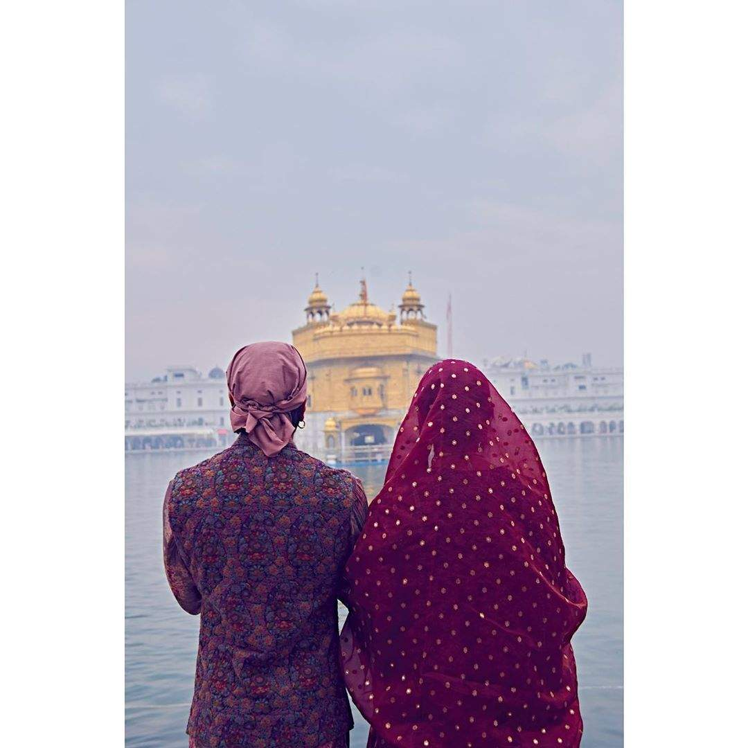DeepVeer's first anniversary: Deepika-Ranveer seek blessings at Golden Temple