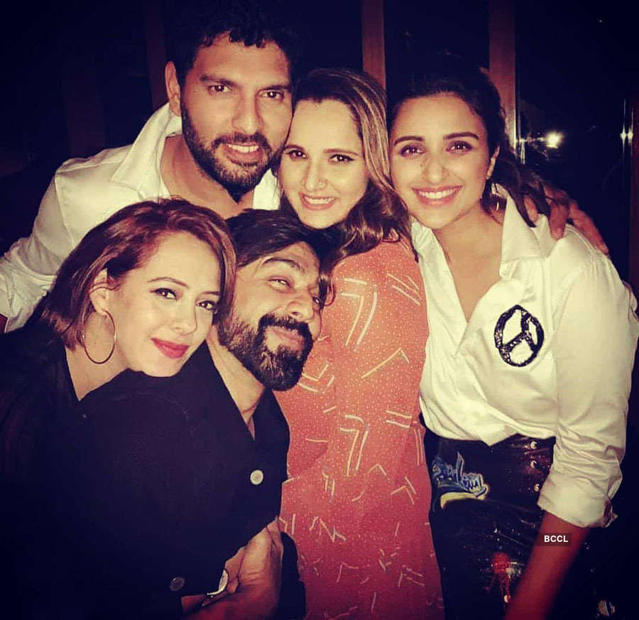 Rare and unseen pictures of Sania Mirza